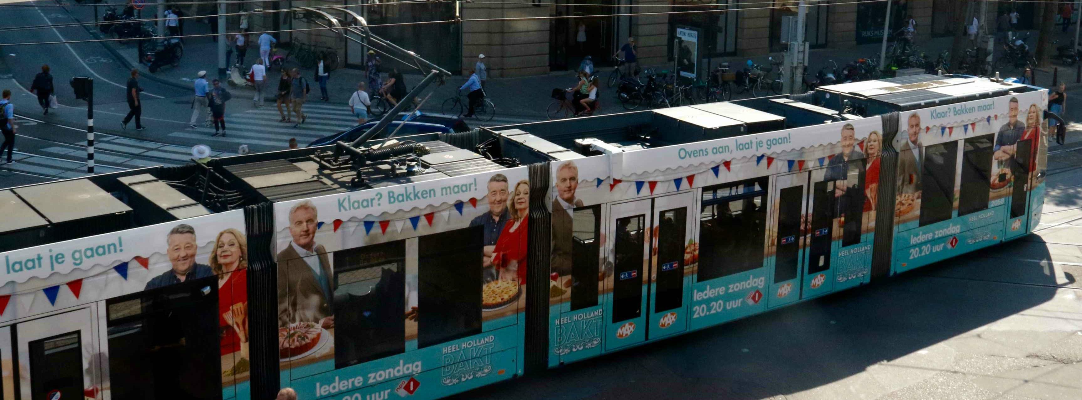 's Werelds eerste geur-tram