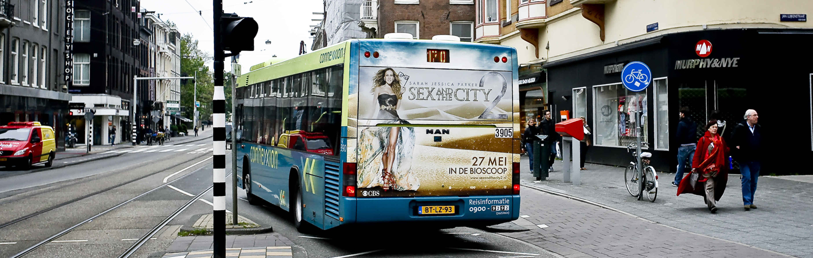 JCDecaux regelt vervoersreclame in Amsterdam