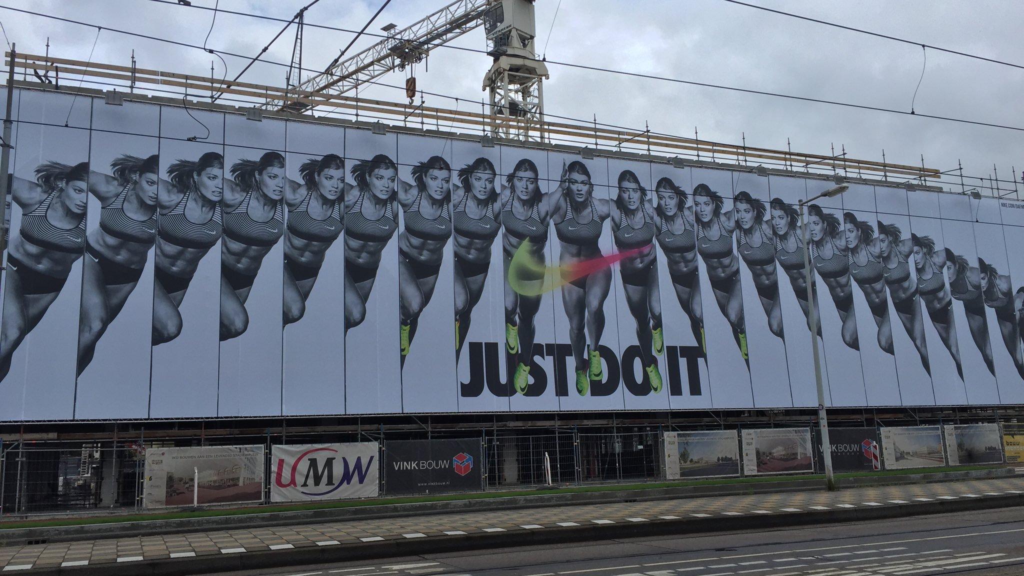 Op gebied van impact wint Nike het EK Atletiek