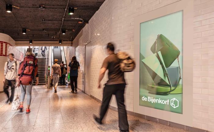 Digitaal adverteren metro Amsterdam