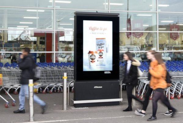 Adverteren supermarkt