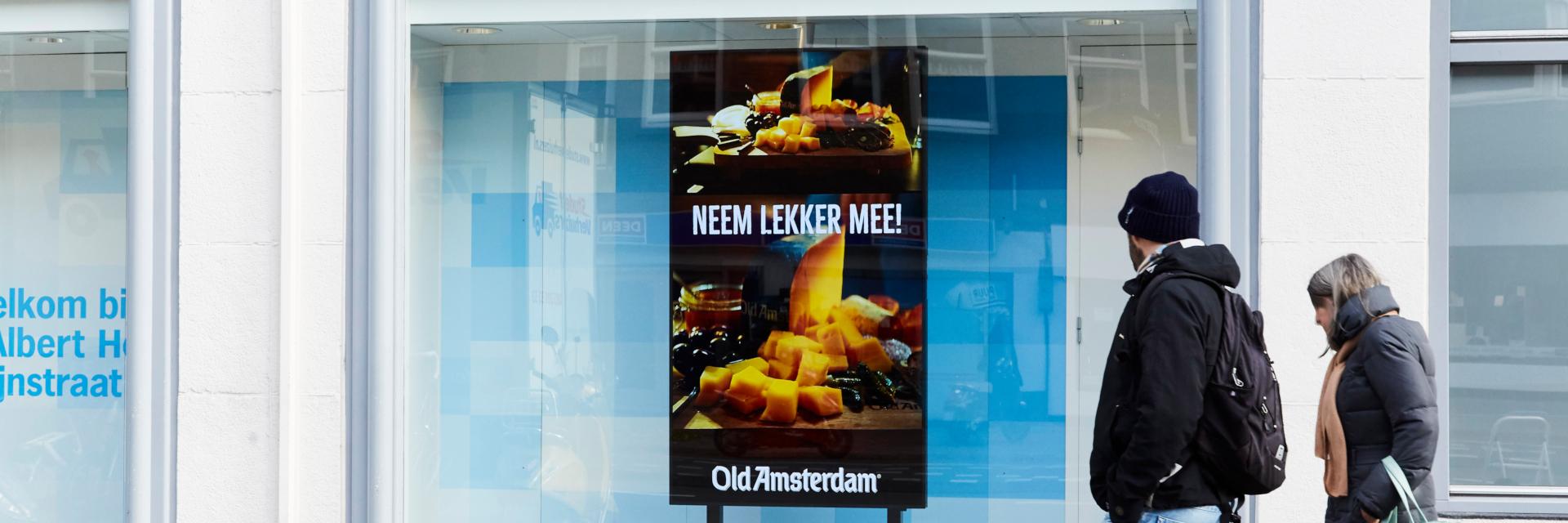 Albert Heijn introduceert digitaal buitenreclame netwerk